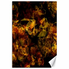 Autumn Colors In An Abstract Seamless Background Canvas 24  X 36