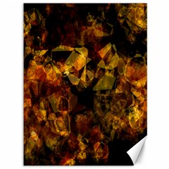 Autumn Colors In An Abstract Seamless Background Canvas 36  X 48
