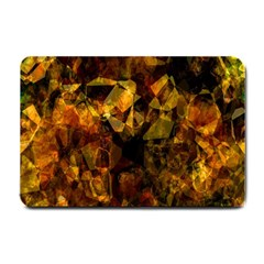 Autumn Colors In An Abstract Seamless Background Small Doormat