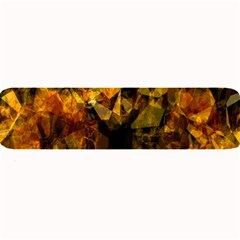 Autumn Colors In An Abstract Seamless Background Large Bar Mats