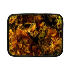 Autumn Colors In An Abstract Seamless Background Netbook Case (small)