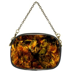 Autumn Colors In An Abstract Seamless Background Chain Purses (One Side)