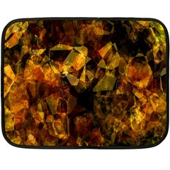 Autumn Colors In An Abstract Seamless Background Fleece Blanket (Mini)