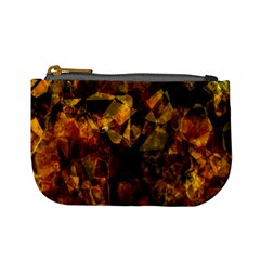 Autumn Colors In An Abstract Seamless Background Mini Coin Purses