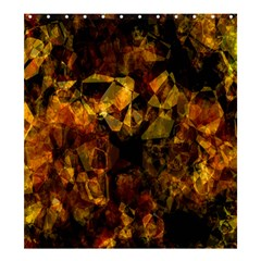 Autumn Colors In An Abstract Seamless Background Shower Curtain 66  x 72  (Large)
