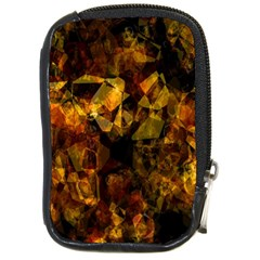 Autumn Colors In An Abstract Seamless Background Compact Camera Cases