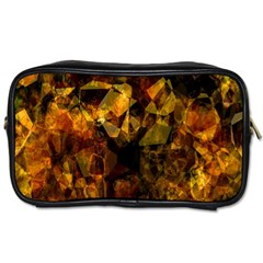 Autumn Colors In An Abstract Seamless Background Toiletries Bags 2 Side