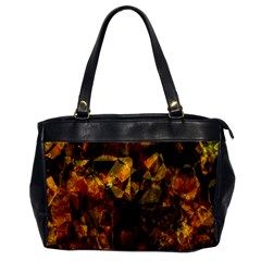 Autumn Colors In An Abstract Seamless Background Office Handbags