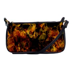 Autumn Colors In An Abstract Seamless Background Shoulder Clutch Bags