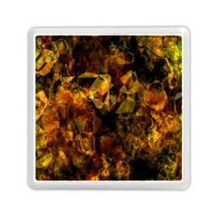 Autumn Colors In An Abstract Seamless Background Memory Card Reader (Square)
