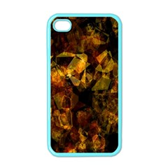 Autumn Colors In An Abstract Seamless Background Apple Iphone 4 Case (color)