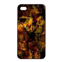 Autumn Colors In An Abstract Seamless Background Apple Iphone 4/4s Seamless Case (black)