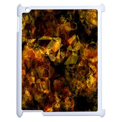 Autumn Colors In An Abstract Seamless Background Apple Ipad 2 Case (white)