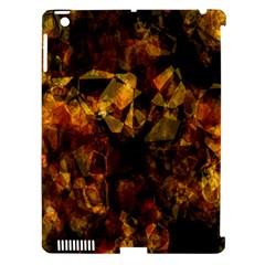 Autumn Colors In An Abstract Seamless Background Apple iPad 3/4 Hardshell Case (Compatible with Smart Cover)