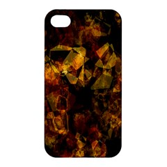 Autumn Colors In An Abstract Seamless Background Apple Iphone 4/4s Premium Hardshell Case