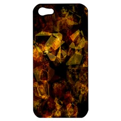 Autumn Colors In An Abstract Seamless Background Apple Iphone 5 Hardshell Case