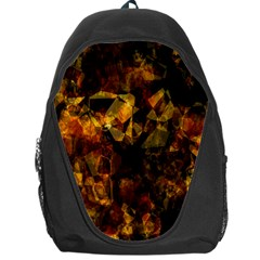 Autumn Colors In An Abstract Seamless Background Backpack Bag