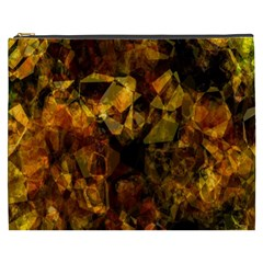 Autumn Colors In An Abstract Seamless Background Cosmetic Bag (xxxl)