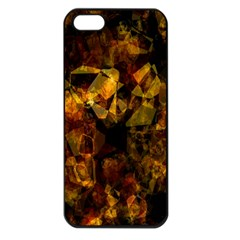 Autumn Colors In An Abstract Seamless Background Apple iPhone 5 Seamless Case (Black)