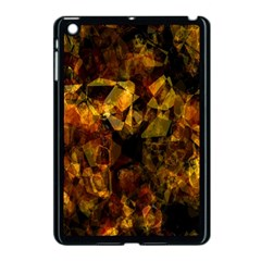 Autumn Colors In An Abstract Seamless Background Apple Ipad Mini Case (black)