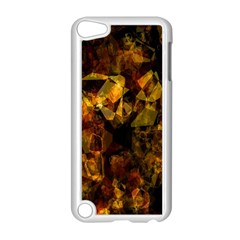 Autumn Colors In An Abstract Seamless Background Apple Ipod Touch 5 Case (white)