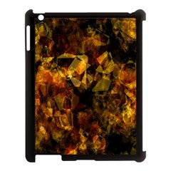 Autumn Colors In An Abstract Seamless Background Apple Ipad 3/4 Case (black)