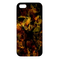 Autumn Colors In An Abstract Seamless Background Apple Iphone 5 Premium Hardshell Case