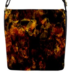 Autumn Colors In An Abstract Seamless Background Flap Messenger Bag (s)