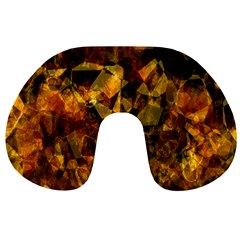 Autumn Colors In An Abstract Seamless Background Travel Neck Pillows