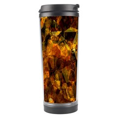 Autumn Colors In An Abstract Seamless Background Travel Tumbler