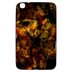 Autumn Colors In An Abstract Seamless Background Samsung Galaxy Tab 3 (8 ) T3100 Hardshell Case