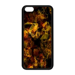 Autumn Colors In An Abstract Seamless Background Apple Iphone 5c Seamless Case (black)