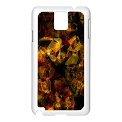 Autumn Colors In An Abstract Seamless Background Samsung Galaxy Note 3 N9005 Case (white)