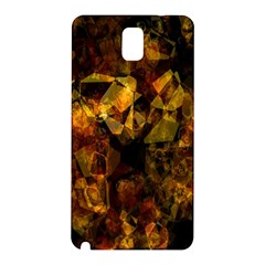 Autumn Colors In An Abstract Seamless Background Samsung Galaxy Note 3 N9005 Hardshell Back Case