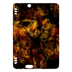 Autumn Colors In An Abstract Seamless Background Kindle Fire HDX Hardshell Case