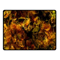 Autumn Colors In An Abstract Seamless Background Double Sided Fleece Blanket (small)