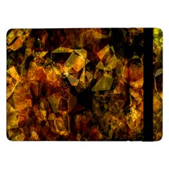 Autumn Colors In An Abstract Seamless Background Samsung Galaxy Tab Pro 12 2  Flip Case