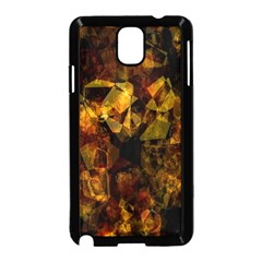 Autumn Colors In An Abstract Seamless Background Samsung Galaxy Note 3 Neo Hardshell Case (black)