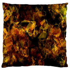 Autumn Colors In An Abstract Seamless Background Large Flano Cushion Case (one Side)