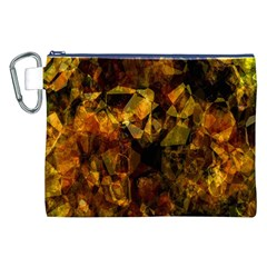 Autumn Colors In An Abstract Seamless Background Canvas Cosmetic Bag (XXL)