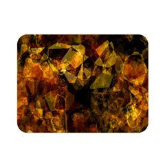 Autumn Colors In An Abstract Seamless Background Double Sided Flano Blanket (Mini)