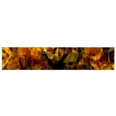 Autumn Colors In An Abstract Seamless Background Flano Scarf (Small)