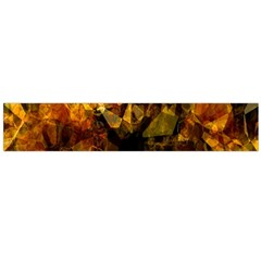 Autumn Colors In An Abstract Seamless Background Flano Scarf (large)