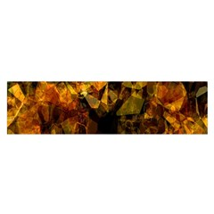 Autumn Colors In An Abstract Seamless Background Satin Scarf (Oblong)