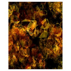 Autumn Colors In An Abstract Seamless Background Drawstring Bag (small)
