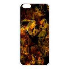Autumn Colors In An Abstract Seamless Background Apple Seamless iPhone 6 Plus/6S Plus Case (Transparent)