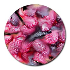 Raspberry Delight Round Mousepads