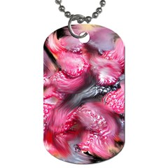 Raspberry Delight Dog Tag (two Sides)