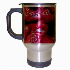 Raspberry Delight Travel Mug (silver Gray)