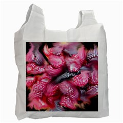 Raspberry Delight Recycle Bag (one Side)